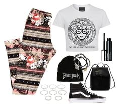 """Untitled #6"" by swerahasan ❤ liked on Polyvore featuring beauty, Vans, DKNY, Forever 21, Feather & Stone and Clinique"