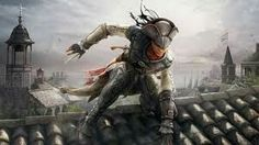 View an image titled 'Aveline on Rooftop Art' in our Assassin's Creed III: Liberation art gallery featuring official character designs, concept art, and promo pictures. Assassin's Creed Chronicles, Assassin's Creed 3, Assassins Creed Unity, Assassins Creed Series, Assassin's Creed Wallpaper, Hd Wallpaper, Wallpapers, Black Characters, Fantasy Art