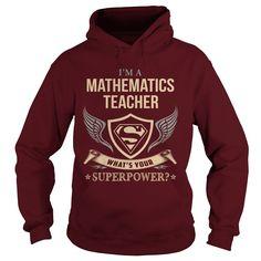 MATHEMATICS TEACHER - WHAT IS YOUR SUPERPOWER.