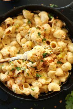 Veganes grünes Chili Mac'n'Cheese   30 leckere vegane Gerichte, die Du in nur 30 Minuten kochen kannst