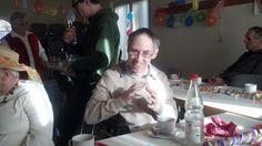 Faschingsfeier der Behindertengruppe Demenzbetreuung Odenwald und Lebenshilfe Fürth eV