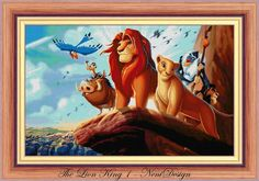 The Lion King 1  Disney fun on the water  cross stitch