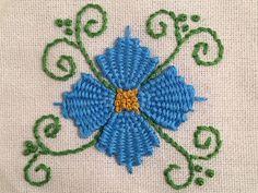 MooshieStitch Monday: Kamal Kadai Stitch Flower - Another Version