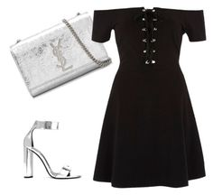"""""""Bez naslova #554"""" by lejla15 ❤ liked on Polyvore featuring Yves Saint Laurent, River Island and Tom Ford"""