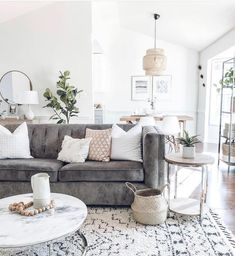 neutral cozy living room