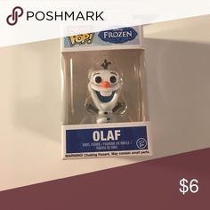 Olaf Frozen pop Miniature pop. Never taken out of box. Olaf from the movie Frozen Accessories