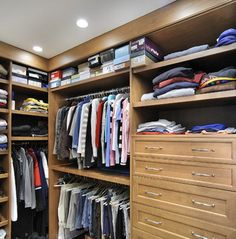 """a good start -- needs to """"color block"""" the hanging & folded clothes, get see thru shoe boxes, the closed drawers aren't my favorite choice (expensive & probably waste some space - I'd have put open slide-out shelves for all folded clothing & accessories/jewelry, except """"one-item deep"""" shelves, like shoes, purses, hats)"""