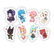 Animal Crossing Set 1 Sticker