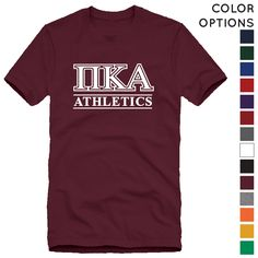 Fraternity Intramural Athletics Tee