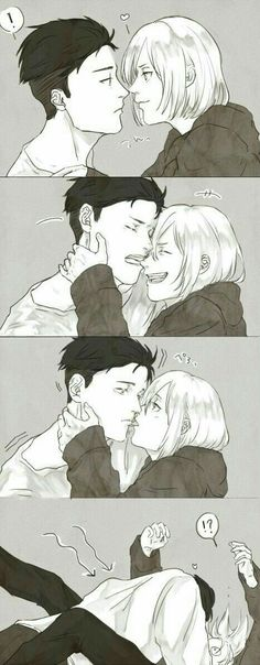 Otabek and Yurio | Yuri!!! on Ice