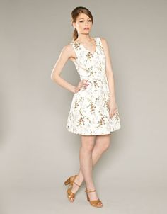 Spriggy floral dress from Fusion at Monsoon.
