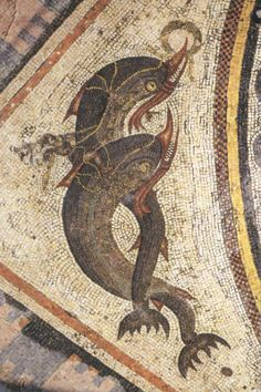 Greek Mosaics - Pined By    http://www.mosaicmosaic.com/