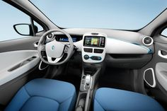 Photo: Picture 7 - Renault unveils all-electric ZOE hatchback New Renault, Interior Sliding Barn Doors, Car Posters, Poster Poster, Future Car, Electric Cars, Concept Cars, Volkswagen, Automobile