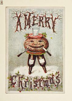 weirdo victorian christmas cards so much weirdness victorian christmas vintage christmas cards - Love Christmas Cards