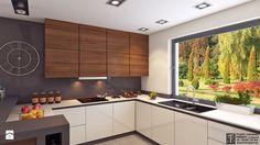 salon 2 - Kuchnia, styl nowoczesny - zdjęcie od APP TRENDY Autorska Pracownia Projektowa