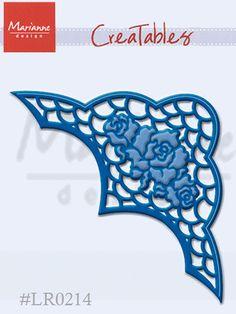 MARIANNE DIES - ANJAS ROSES LARGER CORNER LR0214 FOR CARDS OR SCRAPBOOK PAGES on eBay!