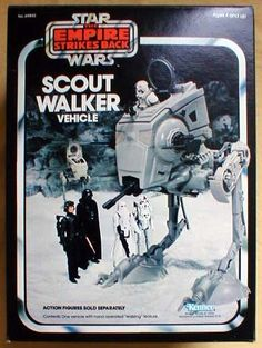 Kenner Star Wars Scout Walker AT-ST Vehicle Toy