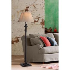 Madison Italian Bronze Floor Lamp