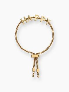 "Chloé Chloé ""HAPPY"" Bracelet, Women's Accessories 