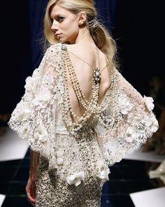 Zuhair Murad : pearl & lace
