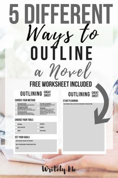 5 Different Ways to Outline a Novel