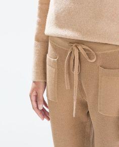 casual summer outfits for women Moda Streetwear, Streetwear Fashion, Printemps Street Style, Knit Fashion, Womens Fashion, Fashion Fashion, Knit Pants, Women's Pants, Pants For Women