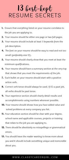 Cover Letter Secrets work Pinterest Adulting, Job interviews - resume job summary