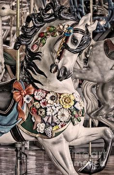 I ♥ carousels -- [REPINNED by All Creatures Gift Shop]