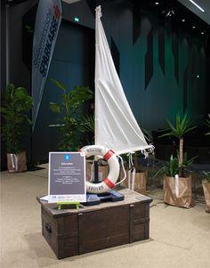 "10. Steirischer Exporttag 2014 in Graz, Gestaltung Sektion ""Schweden"" Space, Design, Graz, Sweden, Floor Space, Spaces"