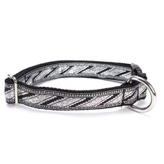 Sacred Pet Boutique : Dog Collar - Byzantine Silver