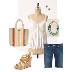 Summer Shopping Day, created by csreynolds on Polyvore