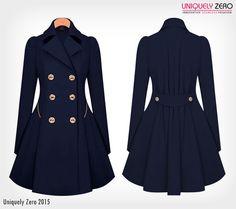 Ladies Buttoned Slim Coat Trench Femme, Manteau, Vestes Pour Femmes,  Manteaux Pour Femmes fb91877256d1