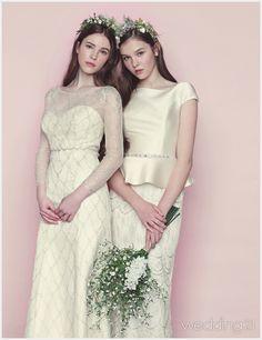 서로 닮은 듯 다른 매력, 웨딩드레스를 입고 마주한 두 신부, 플로렌스 1