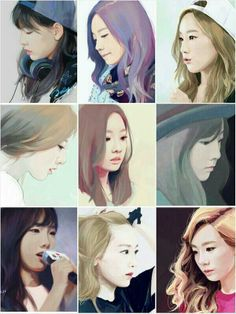 SNSD Taeyeon Girls Generation fanart Jelly