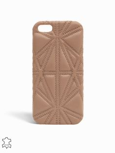 Ip5 Triangolo Nappa - The Case Factory - Taupe - Vesker - Tilbehør - Kvinne - Nelly.com ✔️