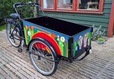 christiania cykel dekoration - Google Search Christiania Bike, Cargo Bike, Wheelbarrow, Motorcycle, Vehicles, Creative Ideas, Google Search, Decorations, Biking