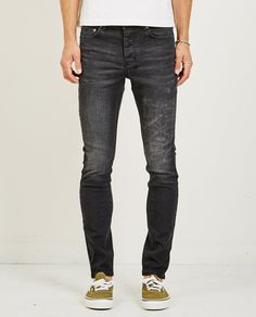 Shop the best collection of contemporary designer fashion, denim and footwear at American Rag Cie. Buckle Jeans Mens, American Rag, Black Jeans, Footwear, Denim, Pants, Fashion Design, Clothes, Shopping