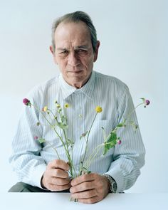 Tommy Lee Jones featured in The Movie Issue, W Magazine, February 2015. Photographed by Tim Walker. Styled by Jacob K.