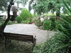 Relax in the garden of Villa Baiera