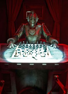 Never challenge a Cyberman to a game of chess... Unless your the Doctor.