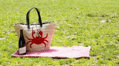 Crabby Beach Tote, by Felix Rey. Available at ahalife.com