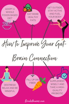 It's time to improve your gut-brain connection! Everything we do and the way we feel flows from our GUT! Making simple changes to your routine and eating habits will help with gut health, and will make you feel better overall! #gutbrainconnection #mentalwellness #mentalfitness #guthealth #gutbrainconnection
