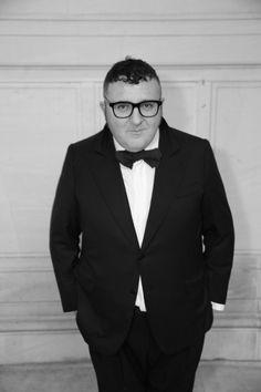Alber Elbaz at the Vogue Paris Foundation Gala dinner.