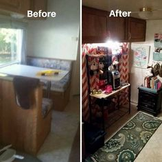 These RV owners decided to remove their dining booth. Here's what they replaced it with.