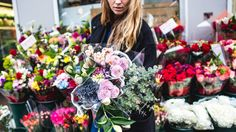 Flower Arranging Tips - Stay away from the neon blue ones and everything will be okay.