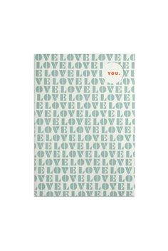 Feeling the love?!   Buy Egg Press Greeting Cards - Love - NoteMaker Stationery