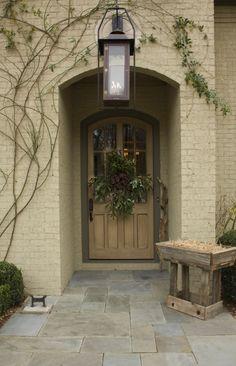 brick archway entry