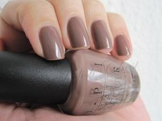 OPI - Over the Taupe- love this color!