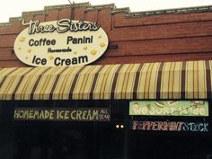 Three Sisters Home Made Ice Cream is found at 1074 Hope Street in Providence.