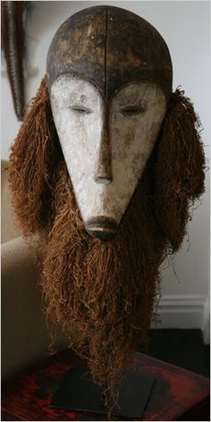 A mask from Gabon.